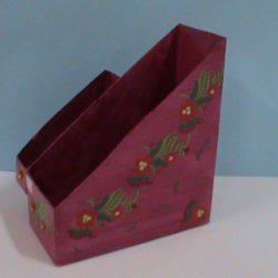 Fabrication d'une boîte de rangement à partir d'un baril de lessive(CE1)