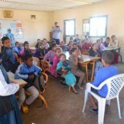Solidarité – زيارة مدرسةأولاد منصور