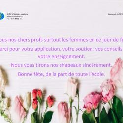 La journée mondiale de la femme