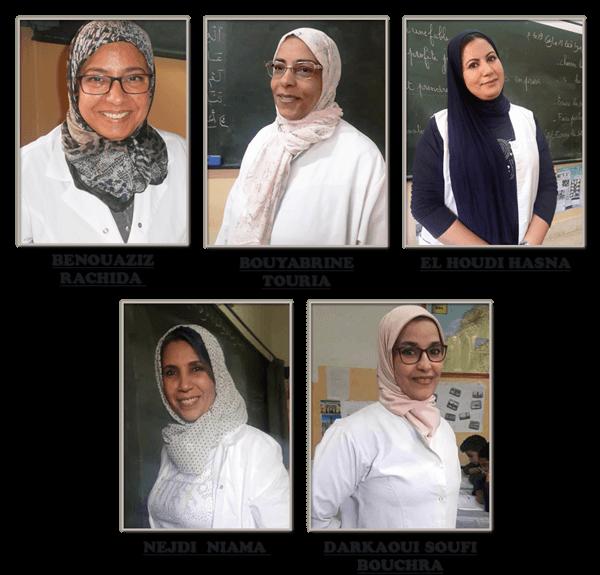 Les enseignantes de la 5AP