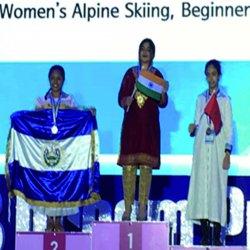 Women's Alpine skiing, beginner