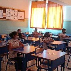 La rentrée des élèves de la 1ASC collège.