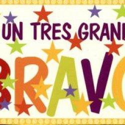 GRAND BRAVO !