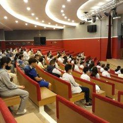 Visite du coordinateur pédagogique de l'institut français du Maroc/Marrakech