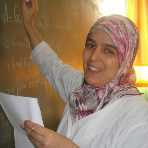 BOURKOUKOU Khadija ENSEIGNANTE  MATHS